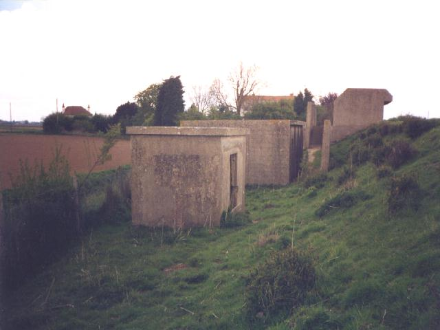 View Of The Right Hand Gun House With Its Magazine And Engine Room