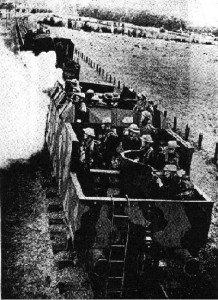 Armoured Train Of The Type That Ran Along The Hull To Withernsea Line 1940-41.