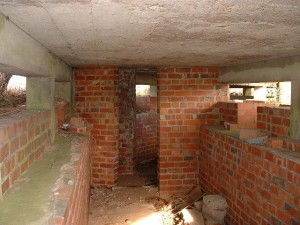 Inside of the Seagull Trench @ RAF Atcham, Shropshire