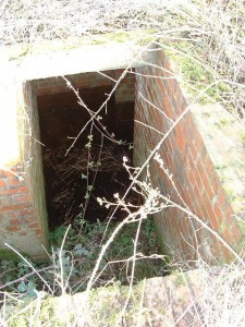 Protected Entrance of the Seagull Trench @ RAF Atcham, Shropshire