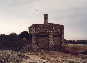 Italian Pillbox at Brucoli (Siracusa)