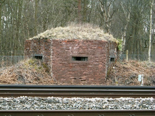Southern Railway FW3/22 Pillbox, Cove, Farnborough.