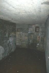 Internal view of Seaward side of Pillbox