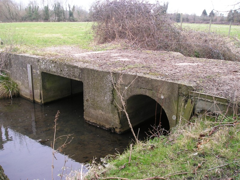 This Bridge Has The Marking HCW 1939