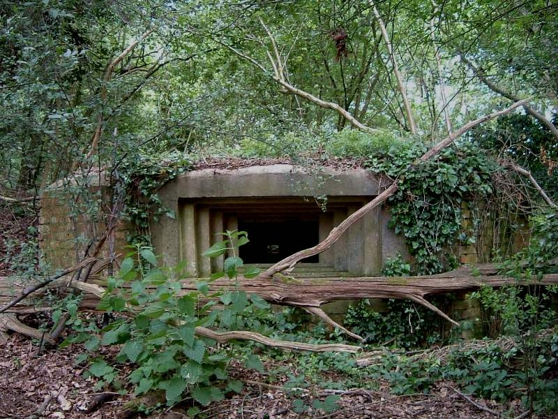 Vickers MMG emplacement