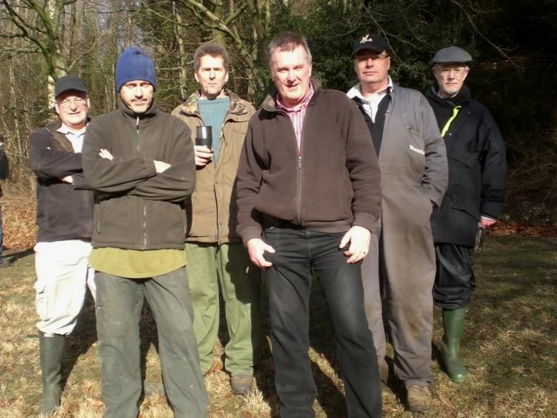 The PSG team Mike, Tony, John, Tim , Stuart and David.