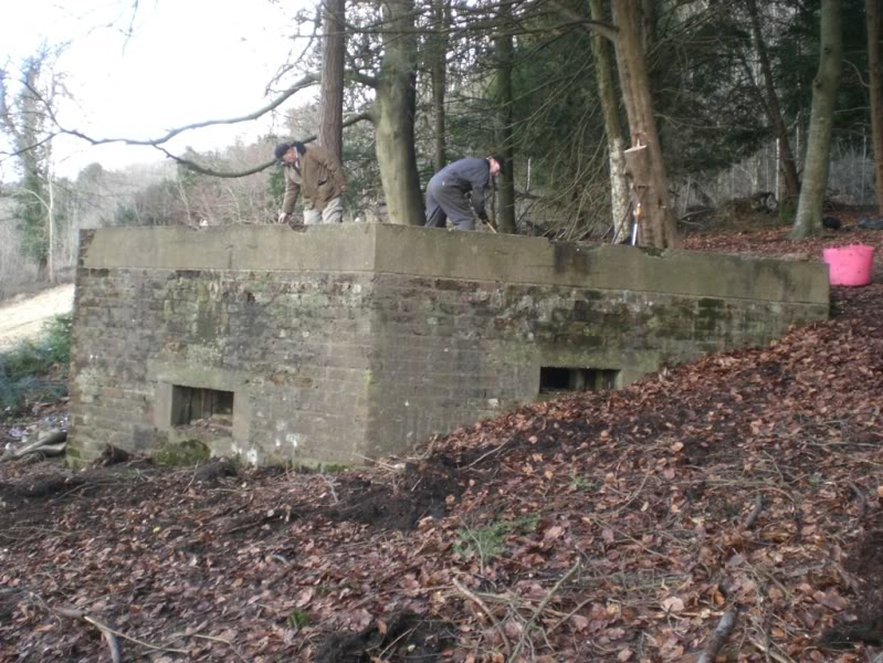 Pillbox and surrounds becoming clearer.