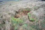 Open Machine Gun Position at Bamburgh, Northumberland.