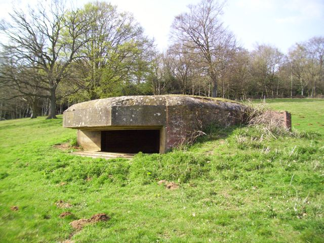 Aldershot Command 2 Pdr AT Emplacement