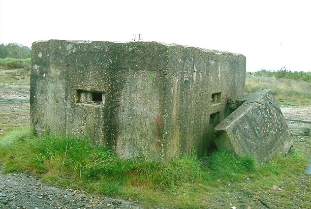 Bagshot Heath Rectangular Infantry Pillbox