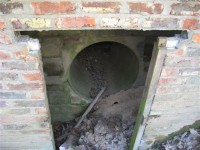 Emergency escape tunnel south of Auxiliary OB bunker in East Sussex.