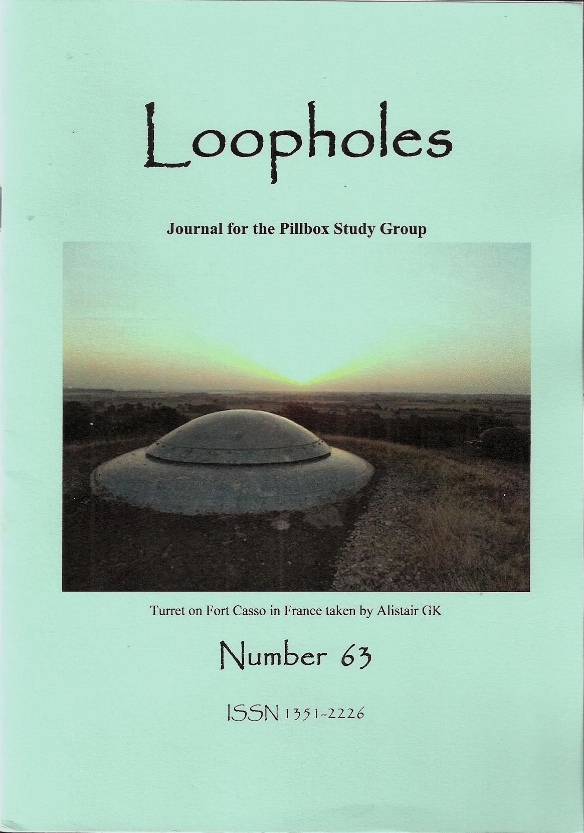 Loopholes Issue 63