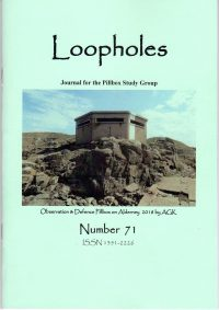 Loopholes Issue 71